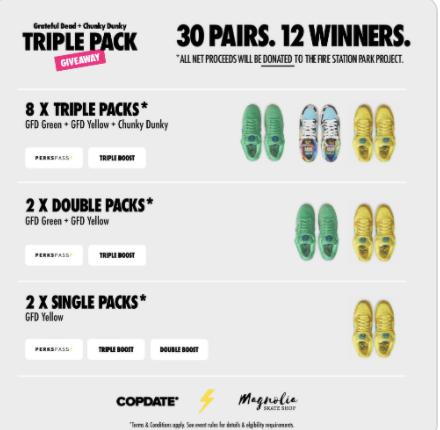 Copdate Dunk Pack