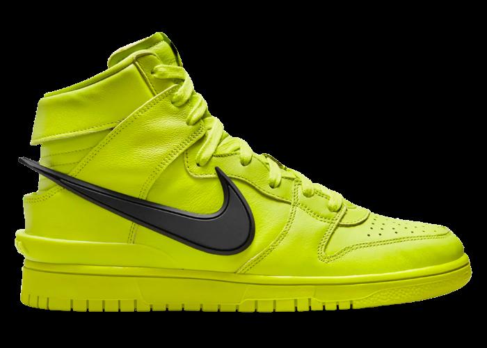 Nike Dunk High AMBUSH Flash Lime