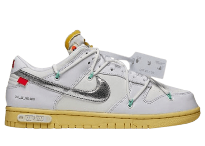 Nike Dunk Low Off-White Dear Summer White