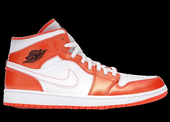 Jordan 1 Mid Electro Orange