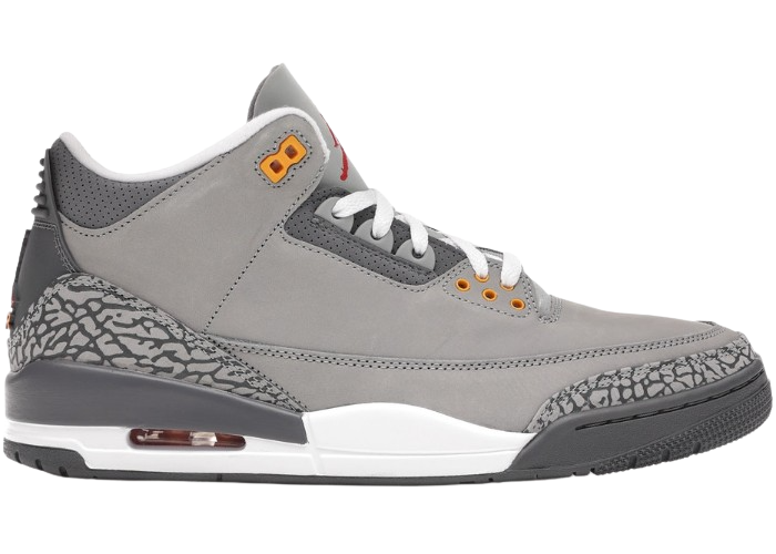 Jordan 3 Retro Cool Grey