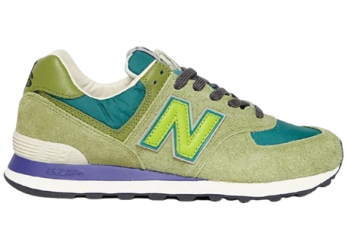 New Balance 574 Stray Rats Green