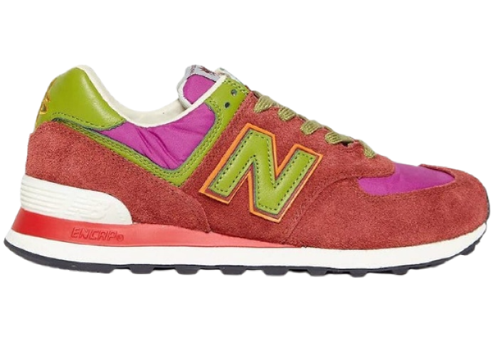 New Balance 574 Stray Rats Red