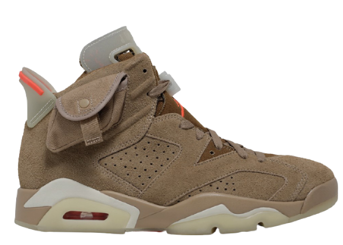 Jordan 6 Retro Travis Scott British Khaki