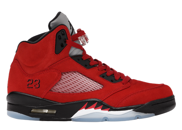 Jordan 5 Retro Raging Bulls Red