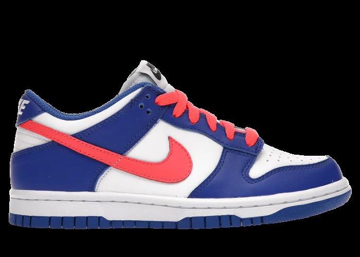 Nike Dunk Low Bright Crimson Game Royal (GS)