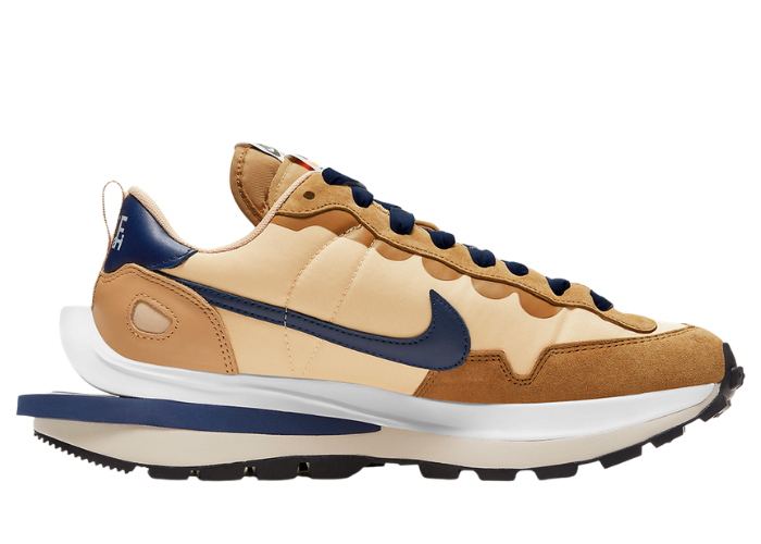 Nike VaporWaffle sacai Sesame and Blue Void