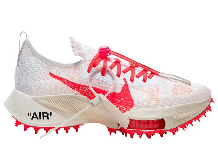 Nike Air Zoom Tempo NEXT% Off White White Solar Red