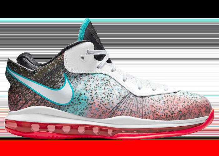 Nike LeBron 8 V2 Low Miami Nights