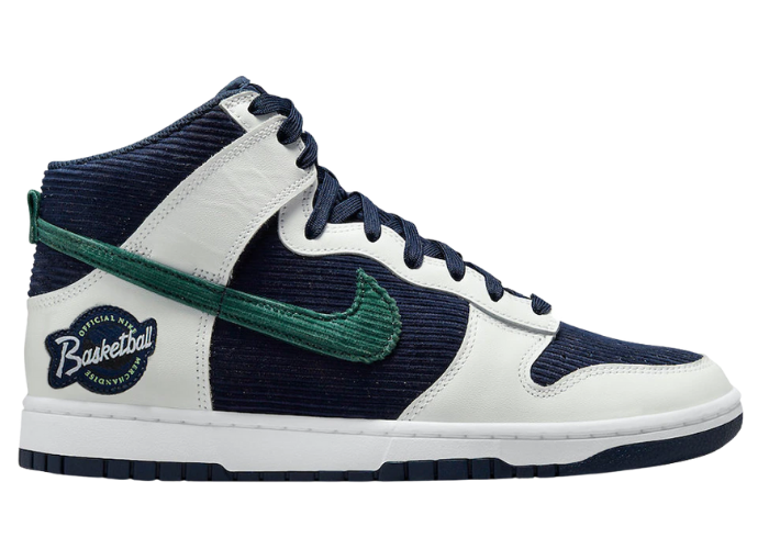 Nike Dunk High Sports Specialties White Navy