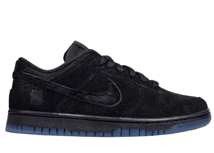 Nike Dunk Low Undefeated 5 On It Black
