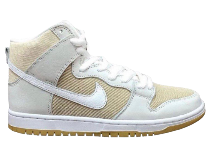 Nike SB Dunk High Pro ISO Unbleached Pack Sail